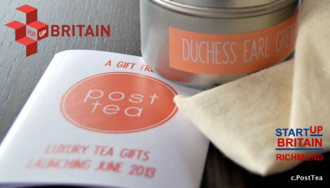 PostTea with logos